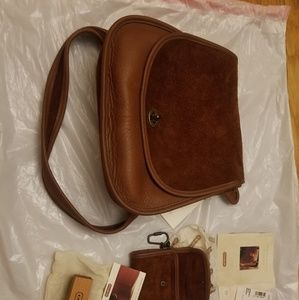 Vintage Berkeley Saddle Bag Combo
